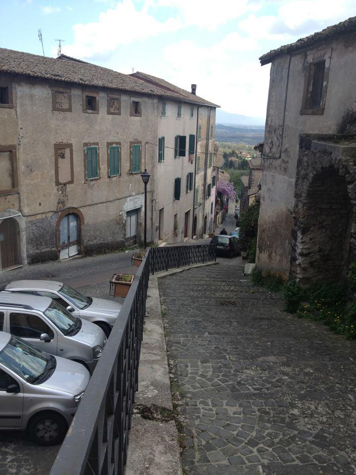 Down we go- success! Looking up ancestors in Pofi, Italy