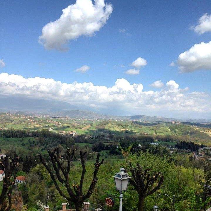 The beautiful view!! Pofi, Italy