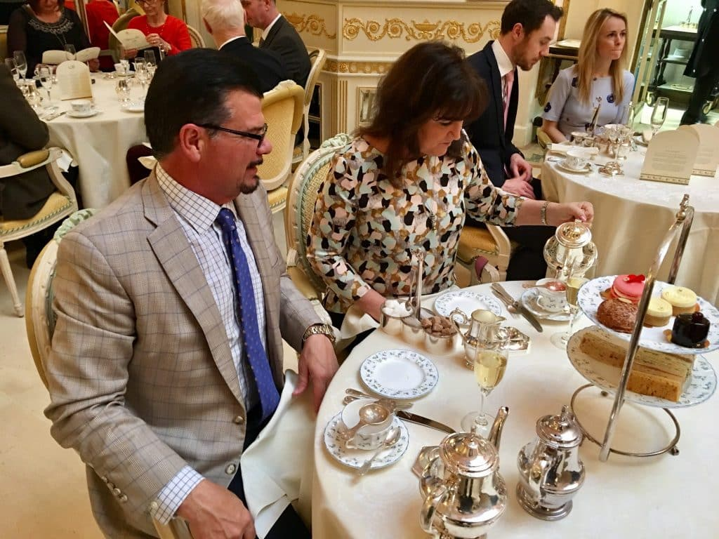 Proper tea at the Ritz London