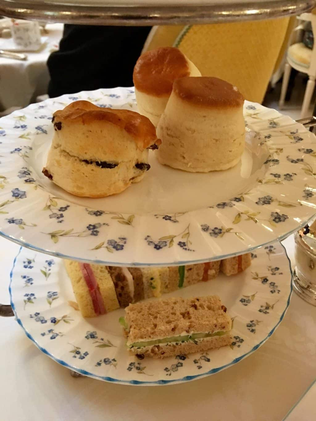 Scones at the Ritz London