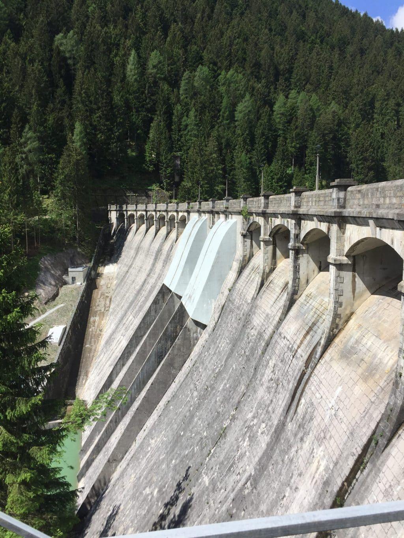 Dam in Auronzo di Cadore, Veneto, Italy