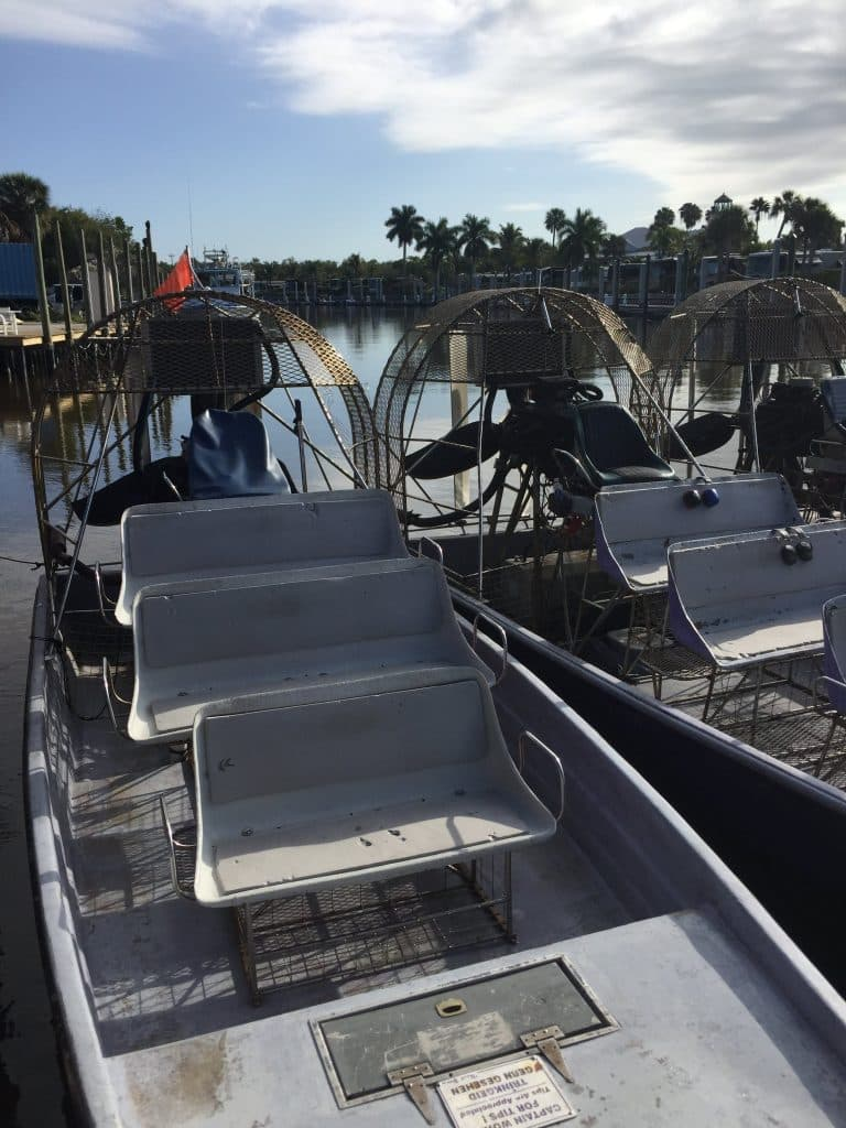 Florida Everglades airboat