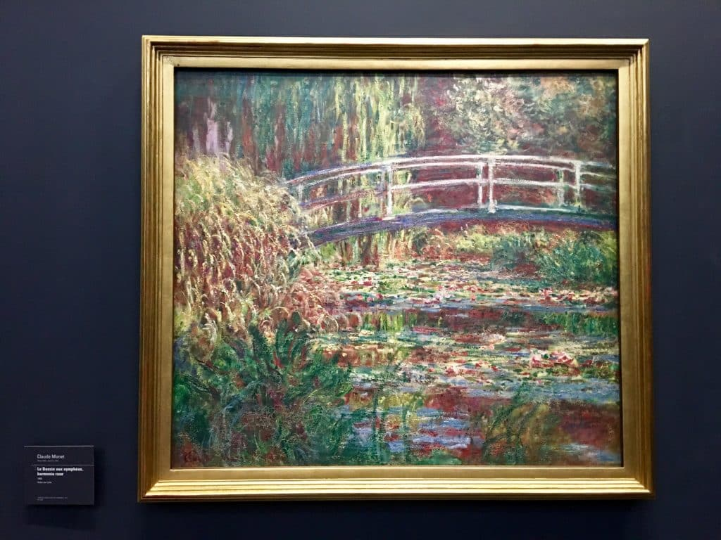 Claude Monet; 'Waterlily Pond Pink Harmony, 1900
