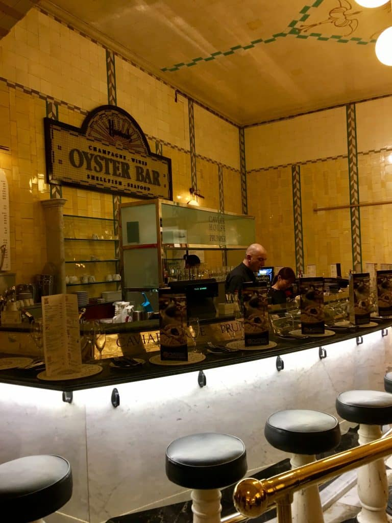 Oyster Bar at Harrods