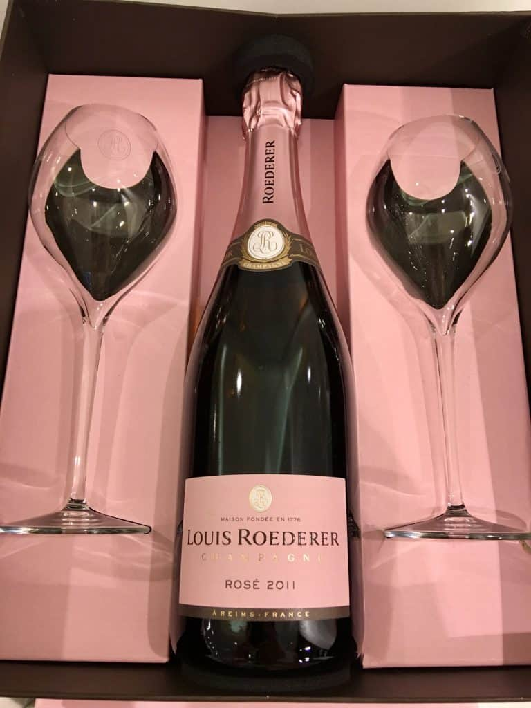 champagne at Harrods