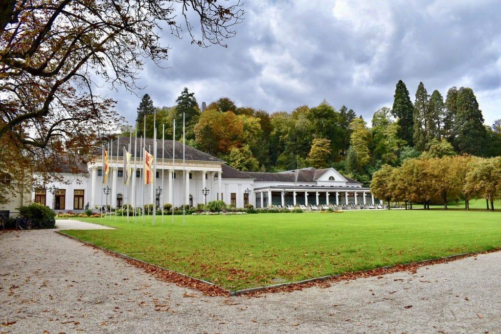 Baden Baden Casino front lawn