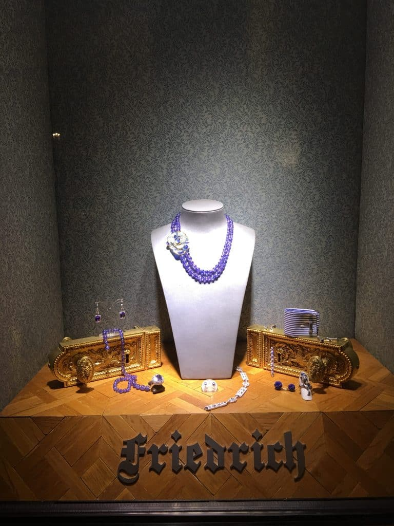 Beautiful jewelry available in the Brenners Park-Hotel & Spa