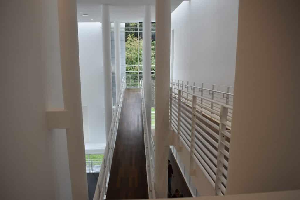 Museum stair case at Frieda Bruda Baden Baden