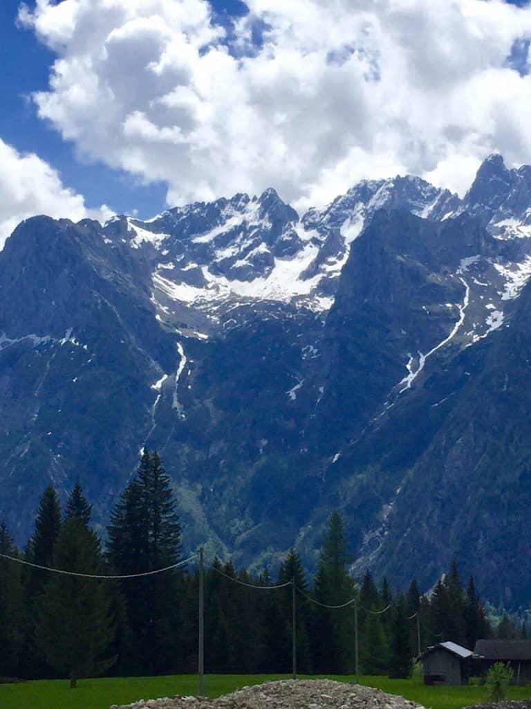 Auronzo di Cadore, Veneto, Italy mountain view