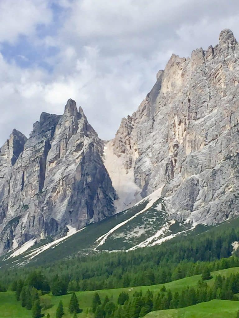 Dolomite mountains in Cortina d'Ampezzo⁩, ⁨Italy