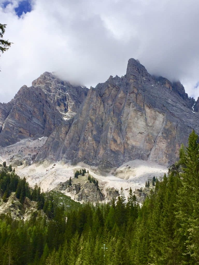 Dolomite mountains near‎⁨Cortina d'Ampezzo⁩, ⁨Veneto⁩, ⁨Italy⁩