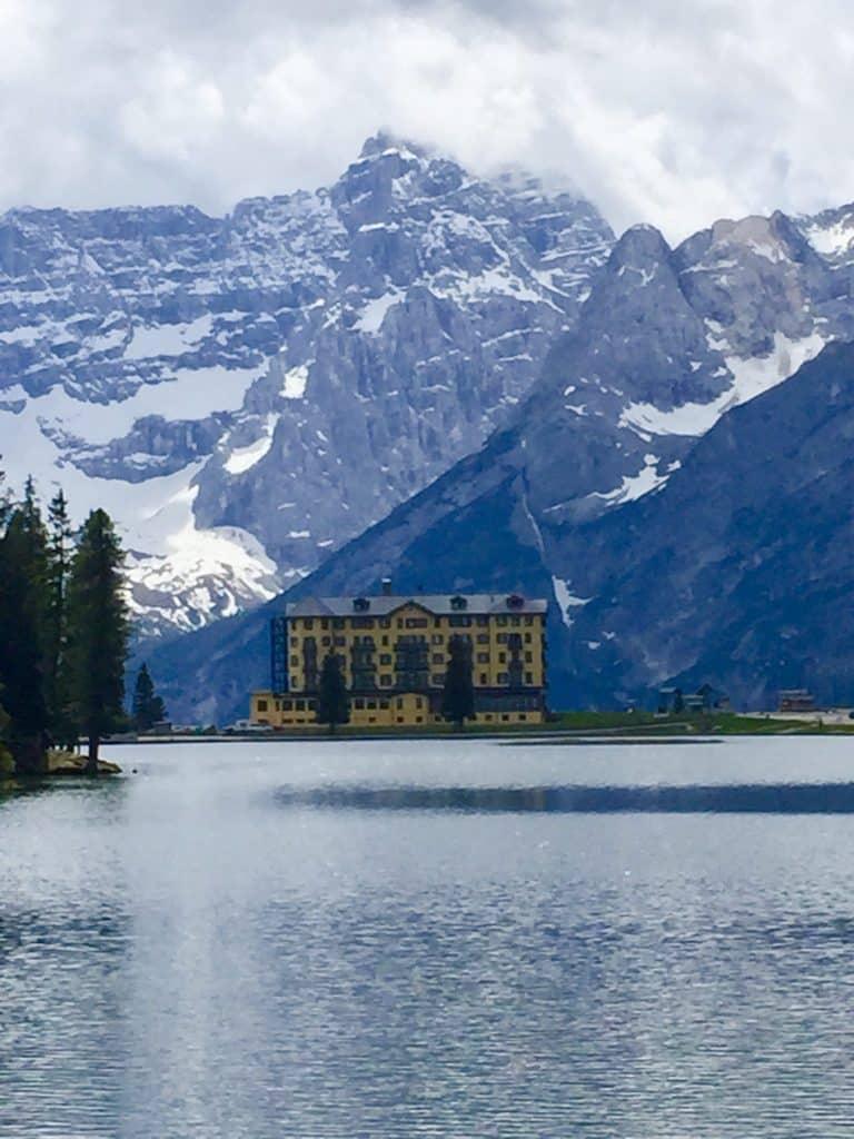 Misurina Lake in the Dolomites