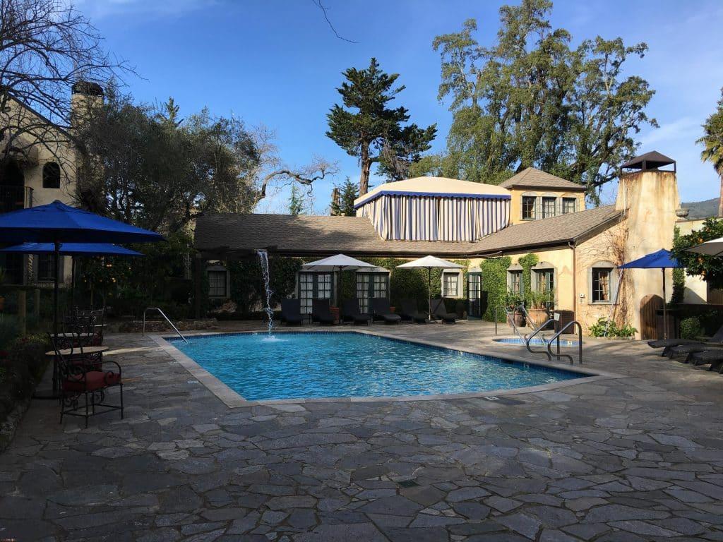 Kenwood Inn and Spa pool area