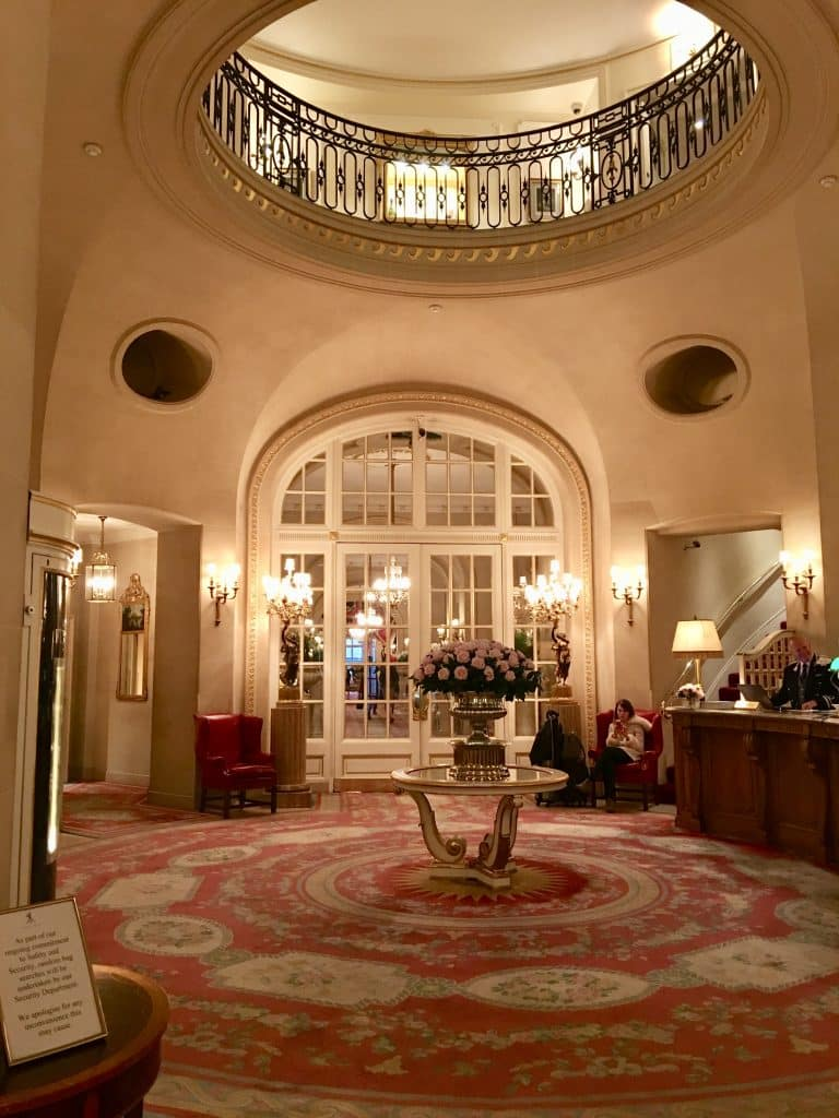 The Lobby at the Ritz London hotel
