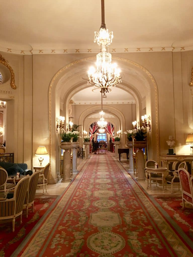 Hallway at the Ritz London