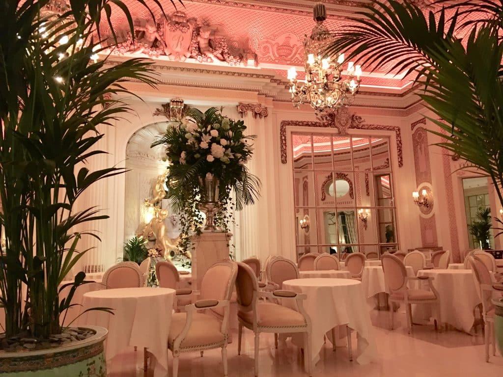 Ritz tea room