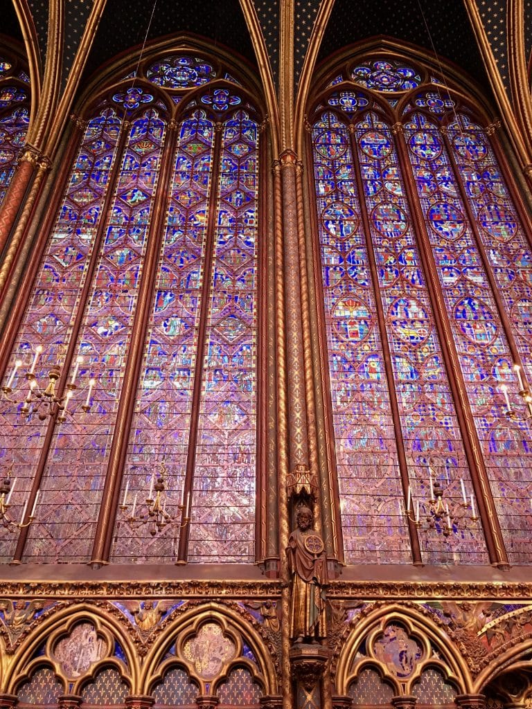 Sainte Chapelle stain glass