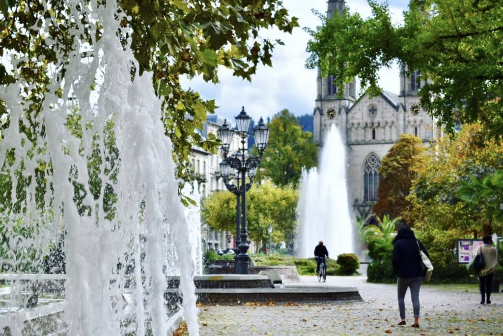 Fountains around the world: Baden Baden Germany