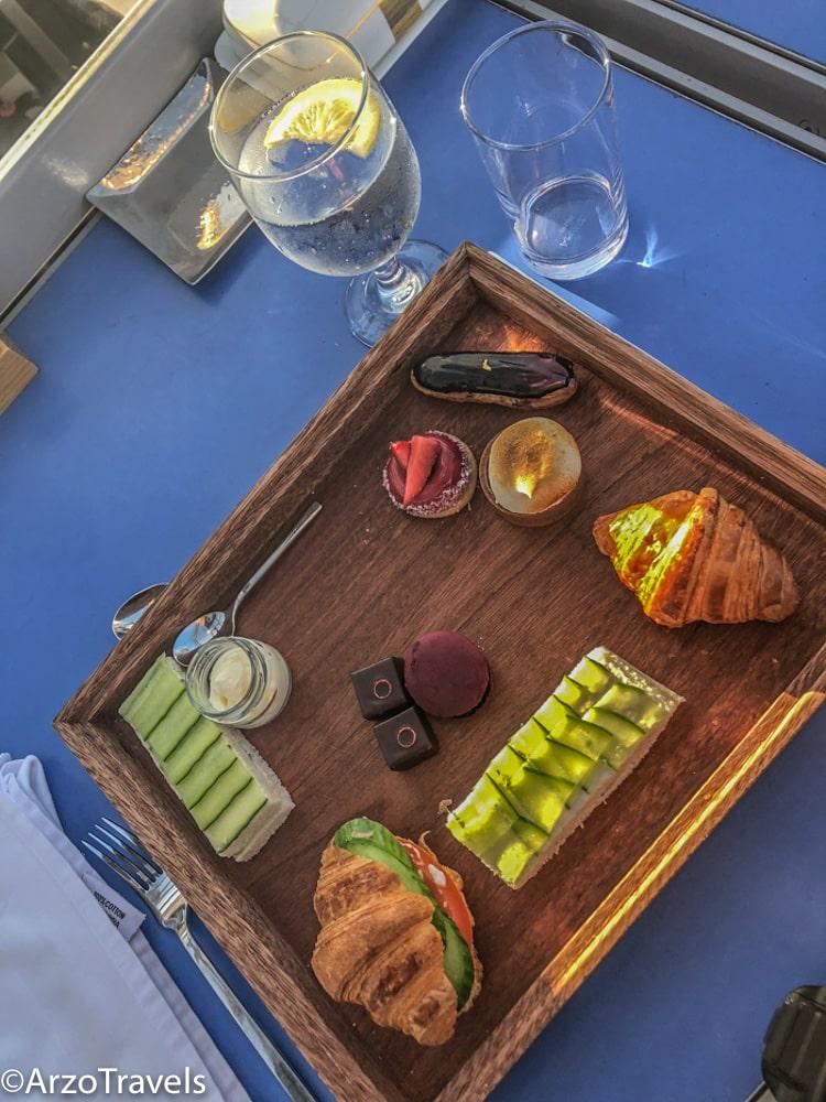 Adventure Travel: Adventure Seeker having Afternoon Tea In Dubai