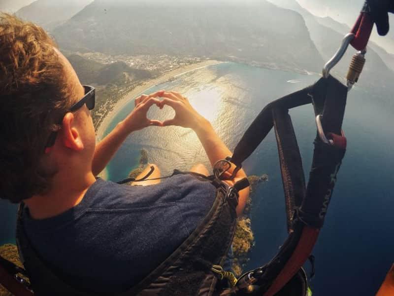 Adventure Travel: Adventure Seeker Paragliding In Fethiye Turkey