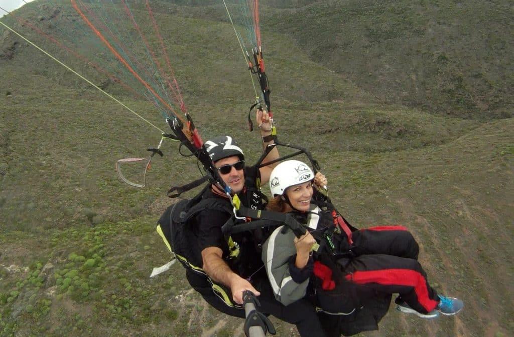 Adventure Travel: Adventure Seekers Paragliding in Costa Adeje, Tenerife
