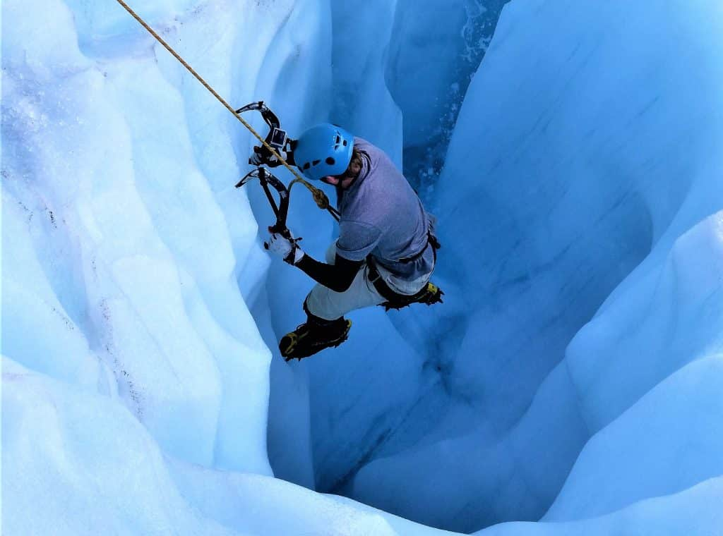 Adventure Travel: Adventure Seeker Ice climbing New Zealand