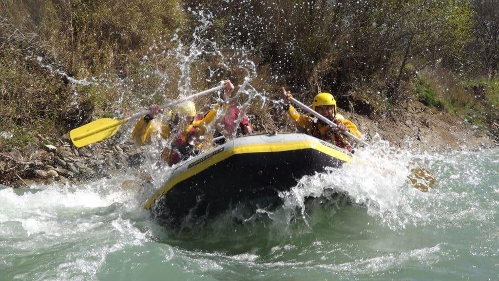 Adventure Travel: Adventure Seekers Rafting on the Zambezi River