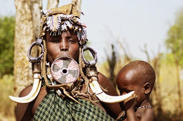 Adventure Travel: Adventure Seeker Meeting the Mursi people of Ethiopia