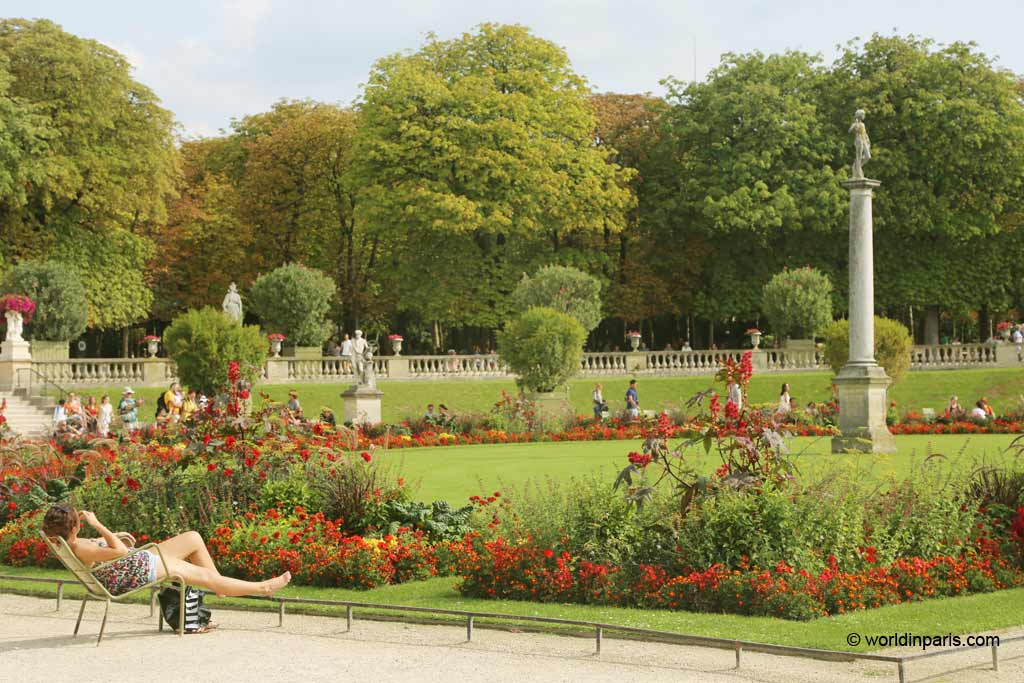 Beautiful flowers and gardens around the world: Paris Luxumberg Gardens