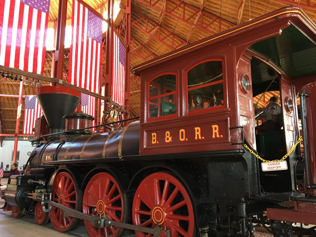 Museums Around The World: Baltimore and Ohio Railroad Museum Baltimore Maryland