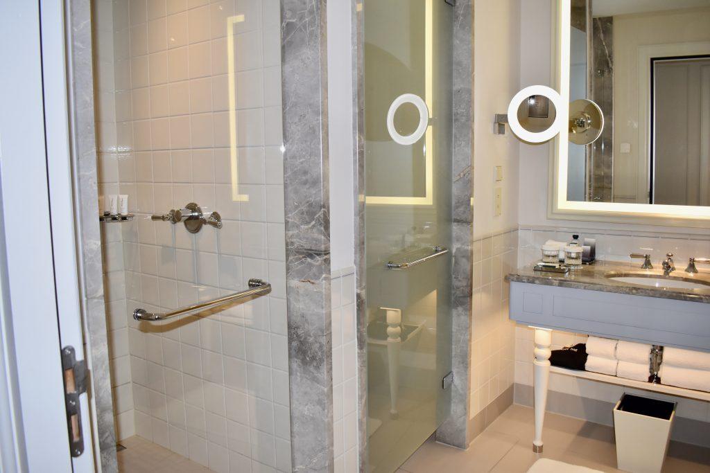 Bathroom at the Waldorf Astoria Amsterdam