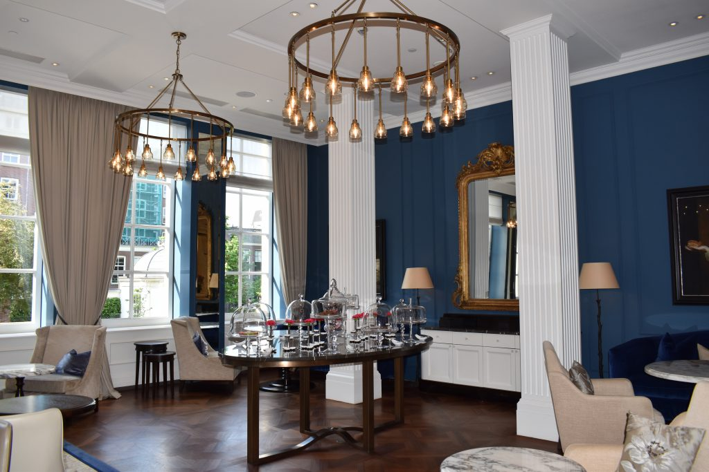 Waldorf Astoria Amsterdam enjoy tea and sweets while meeting for business or friends