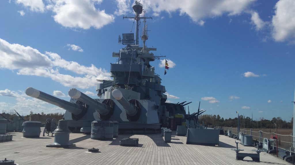Museums Around The World: The USS North Carolina in Wilmington North Carolina
