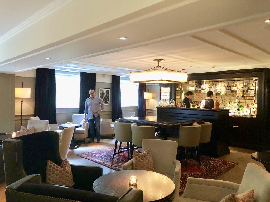 The Vault Bar at the Waldorf Astoria Amsterdam.