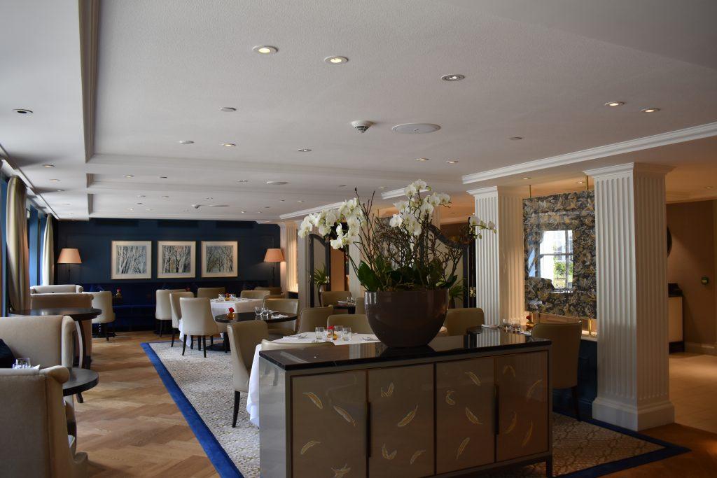 Waldorf Astoria Amsterdam Goldfinch Restaurant