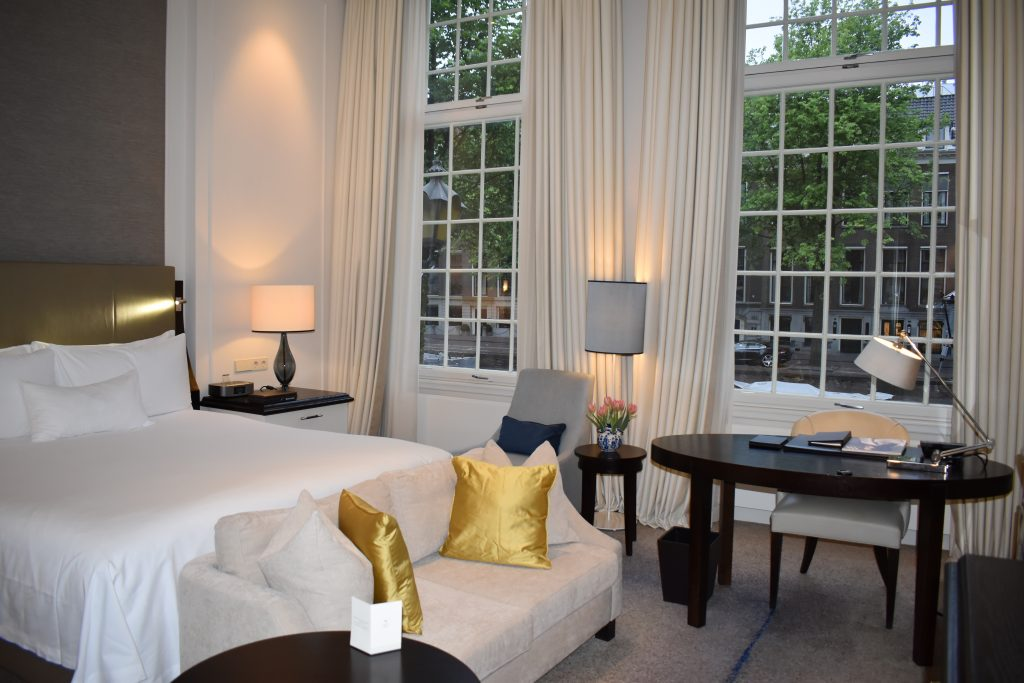 Waldorf Astoria Amsterdam room
