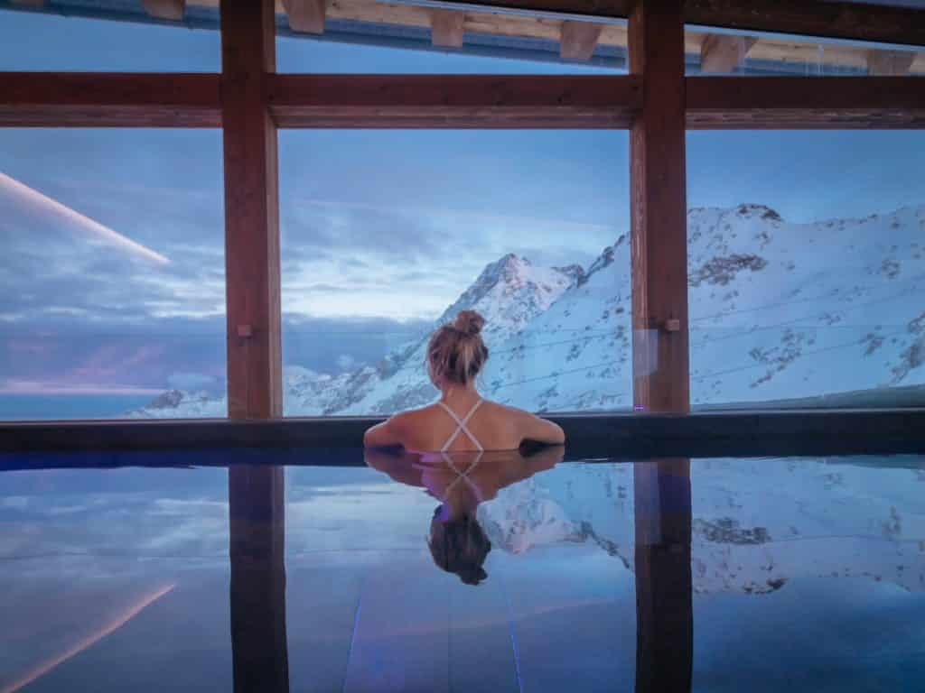 Spas around the world: Capanna Presena Spa: Trentino, Italy