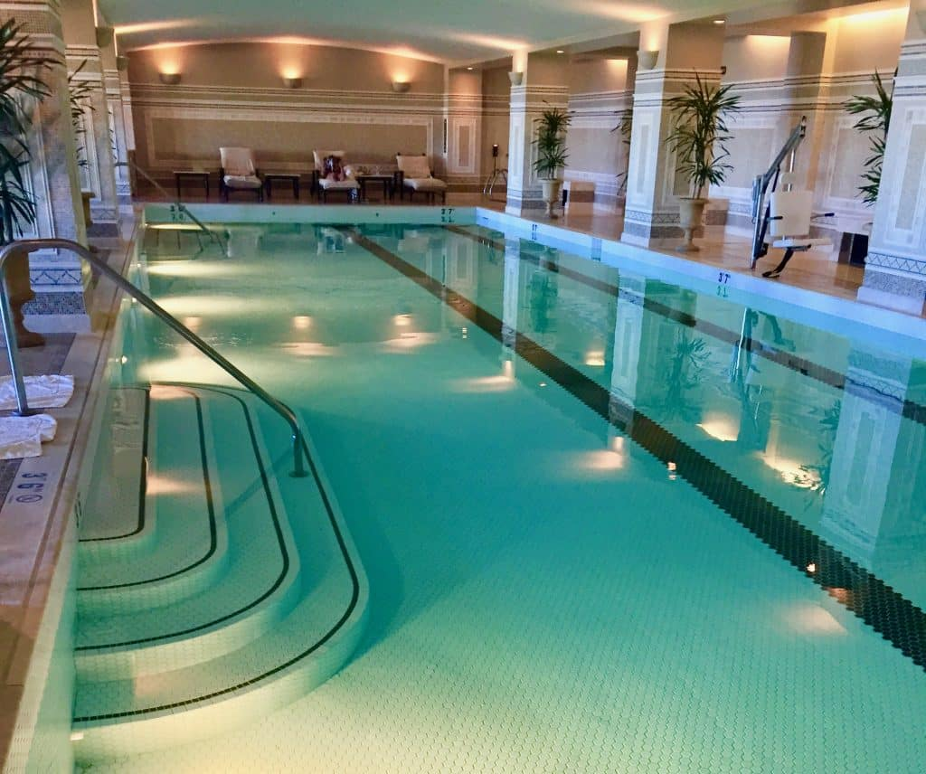 Spas Around the World; The pool at the Montage Utah, United States