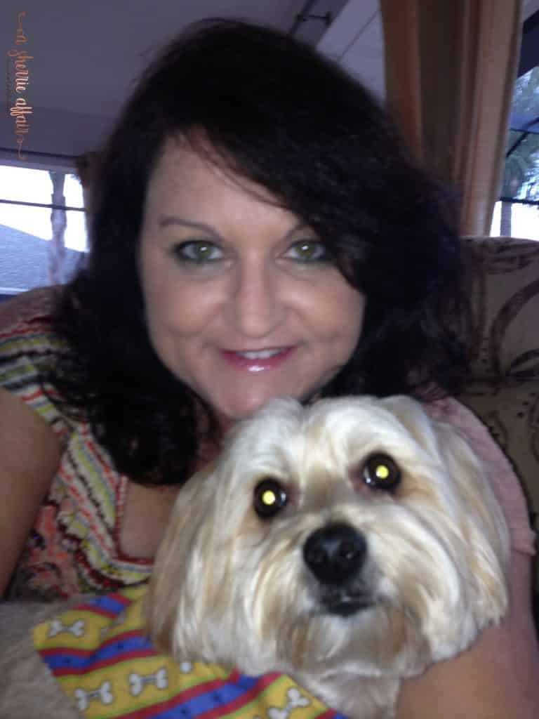Reddington my Morkie dog and me