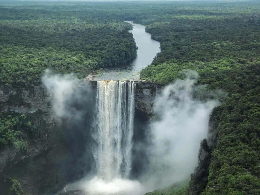 Travel By A Sherrie Affair's Thursday Travel Blogger: My Adventures Across the World- My Favorite Destination is Kaieteur Falls