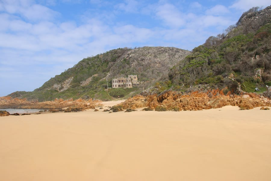Garden Route Noetzie Beach in South Africa