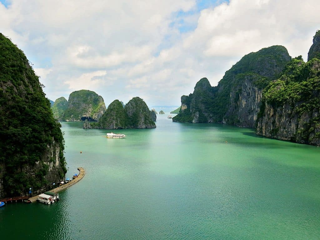 Travel By A Sherrie Affair's Thursday Travel Blogger: Wanderlust Storytellers - My Favorite Destination is Halong Bay Vietnam