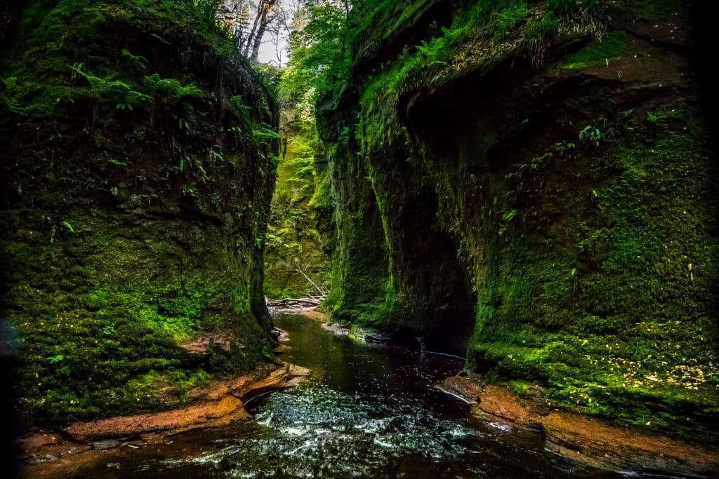 Devil's Pulpit Scotland