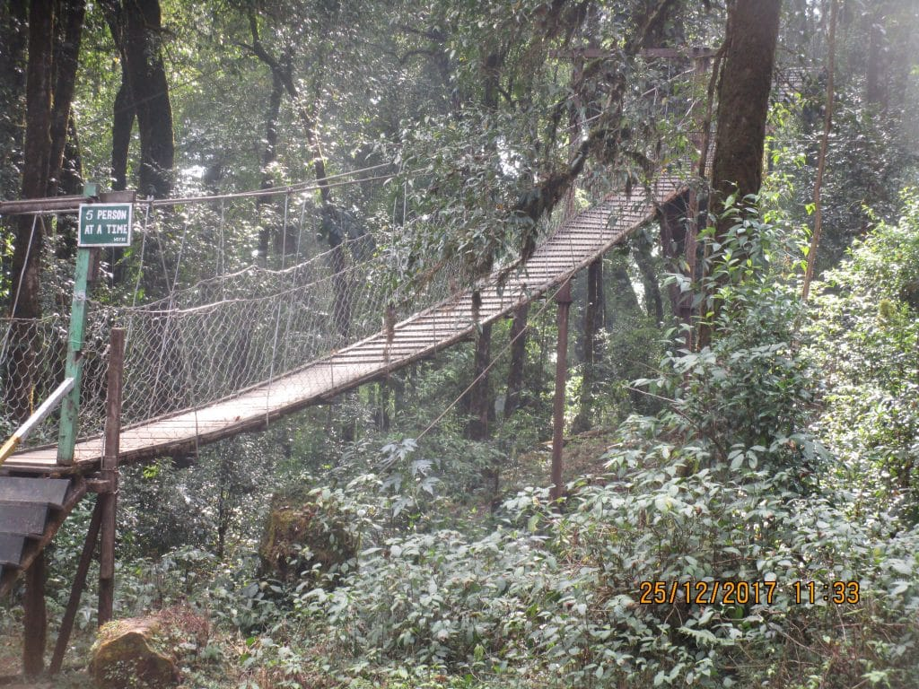 Hanging Bridge Legend in India