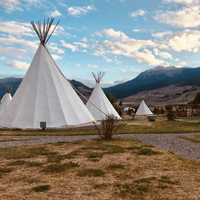 Tipi's in Montana